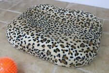 BEAN BAG Bed Soft THERMAL Fleece Dog Puppy Pet Cushion Mattress. Washable cover