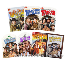 Wagon Train: Complete Western TV Series Seasons 1 2 4 5 6 7 8 Box/DVD Set(s) NEW