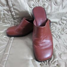 100% Leather Upper Material Mules NEXT Shoes for Women