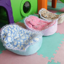 Warm Fleece Pet Dog Kennel Cat Puppy Lace Bed Mat Pad House Cushion Comfy winter