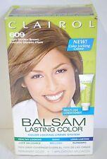 LOT 2 Clairol BALSAM CREME 609 LIGHT Golden BROWN Women Hair COLOR No DRIP