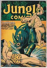 Jungle Comics #91 BONDAGE COVER ! ! !  F- VERY SOLID COPY !