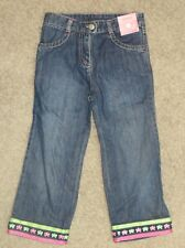 Gymboree Garden Friends Butterfly Jeans Size 4T