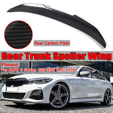 REAL Carbon Fiber PSM HighKick Style Trunk Spoiler For BMW 19-20 G20 330i M340i
