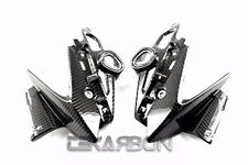 2011 2012 2013 Yamaha FZ8 Carbon Fiber Headlight Side Fairings - 2x2 twill weave
