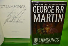DREAMSONGS Vol 2 by George RR Martin HC a game of thrones Science Fiction SIGNED