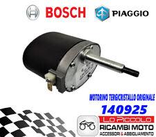 MOTORINO TERGICRISTALLO BOSCH ORIGINALE PIAGGIO APE TM 602 703 DIESEL BENZINA