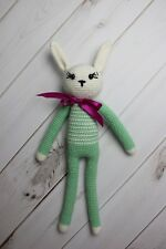 Knitted Bunny Handmade Soft Toy for newborn photography