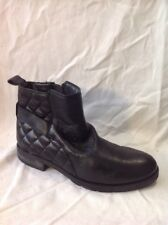 Lotus Black Ankle Leather Boots Size 5