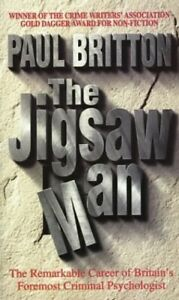 The Jigsaw Man by Britton, Paul Paperback Book The Cheap Fast Free Post