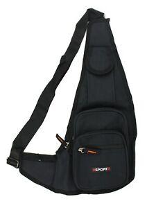 Men Backpack Fanny Pack Crossbody Sling Shoulder Bag Chest Travel Sport Women