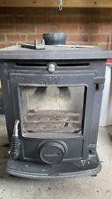 AGA Little Wenlock Black Stove Wood Burner Fire
