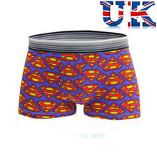 """Mens Sexy Logotipo de Superman boxeadores ** ** ligeramente imperfectas para caber 31"""" -40"""" ** ** Vendedor de Reino Unido"""