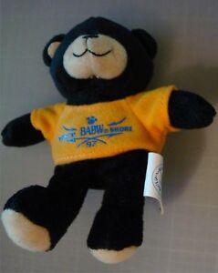Dimples Teddy in a Gold Tee Shirt McDonald's Build A Bear #5