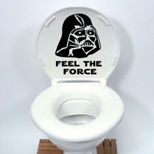 Star Wars Darth Vader Toilet Seat Sticker Funny Cartoon Vinyl Decal Home Deco F
