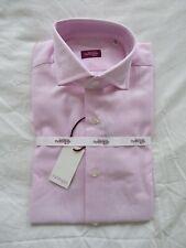 Sartoria Partenopea Pink Luxury hand stitched Italian shirt