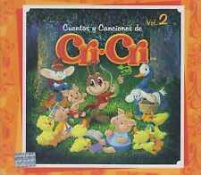 CD - Cuentos Y Canciones De Cri Cri NEW Vol. 2 / 3 CD's FAST SHIPPING !