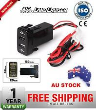 Toyota HILUX III Kun26 3.0 TD 2005-2015 Dual USB Charger OEM Switch Design
