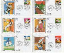 1997 France 6 FDC 1er jour  la lettre / FDCa6