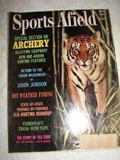 SPORTS AFIELD - July 1963 - ARCHERY - THE STORY OF TEX COBB - ELK-HUNTING ROUNDU