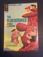 Flintstones Bigger and Boulder #1 F 1962 84 page Giant Gold Key Silver Age Comic