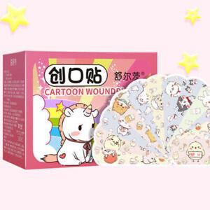 120pcs/set Band-aid Pattern Adhesive Plaster Bandage Breathable Waterproof S_yk