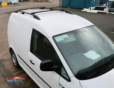VW Caddy 2010+ Aluminium Dachreling und Querträger schwarz