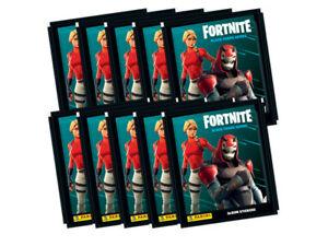 Panini Fortnite Black Frame Series 2020 Sticker Collection - 10 sticker packs