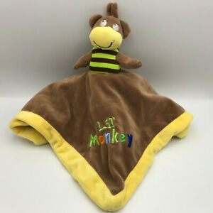 Baby Essentials Flip Lovey Lil Monkey Lion King of the Jungle Security Blanket