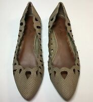 Mia Womens Slip On Shoes Size 8.5 Point Toe Eyelet