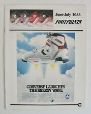 Rare Vintage 1988 Converse Shoes Newsletter Chuck Taylor All Star Jack Purcell