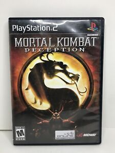 Mortal Kombat Deception PS2 Sony PlayStation 2 Complete with Manual 2004