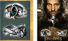 Men Classics film Lord of the Rings LOTR Crystal Ring Aragorn's Ring of Barahir