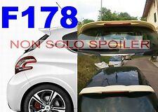 SPOILER POSTERIORE  PEUGEOT 208  3 -5 PORTE GREZZO    F178G-TR178-1