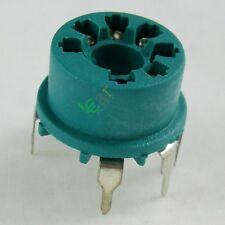 50pc Mini 7pin Bakelite vacuum tube socket 12Ae6 6At6 6Bk6 12Av6 12Bu6 6Aq6 6066