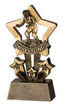 Wrestling Star Resin Trophy FREE ENGRAVING