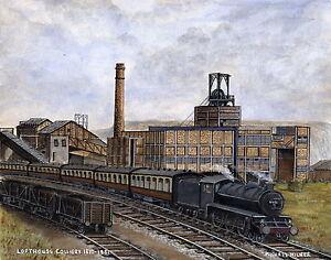 Lofthouse Colliery  1877 - 1981 - Ltd Ed Print - Pit Pics - Coal Mining