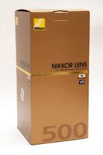 Nikon AF-S NIKKOR 500mm F/5.6E PF ED VR Camera Lens + Hejnar Foot - USA Model