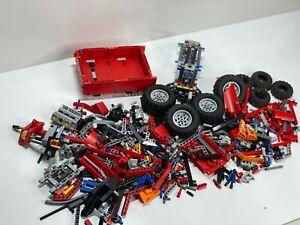GENUINE LEGO TECHNIC BULK LOT - WHEELS,AXEL AND MORE -  PARTIAL SET CAR/TRUCK