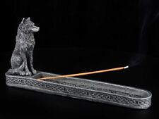 Porte-encens - NOIRE loup - Figurine décorative bâtons d'encens fantasie