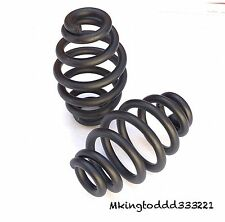 """3.25"""" Black Solo Seat Springs For Harley Davidson Softail Sportster All Years"""