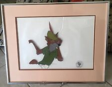 Disney Original Robin Hood Production Animation Cel 1973 Framed With COA