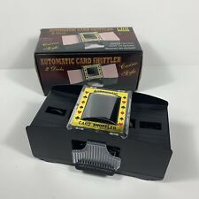 Chh Games 2 Deck Automatic Card Shuffler - Casino Style Item #2609. Open box