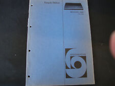 Original Service Manual  Bang&Olufsen Beocord 5000