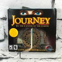 Journey To The Center Of The Earth Adventure Game PC CD-ROM Rated E For Everyone