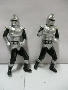 2 1978 Battlestar Galactica Cylon Raider Action Figures