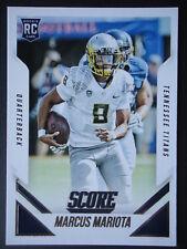 NFL 368 Marcus Mariota Tennessee Titans Rookie Panini Score 2015