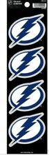 Tampa Bay Lightning Decal NHL 4 Pack Auto Stickers Rico The Quad