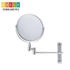 Specchio ingranditore da parete estensibile per trucco da bagno ingrandimento