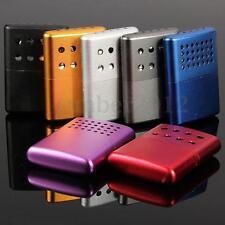 Small Aluminum Ultralight Hand Warmer Portable Handy Pocket Hunting Outdoor